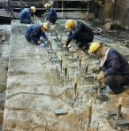 岡山県某所 製鋼工場内