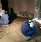 茨城県某所 ボンプバレル施工状況