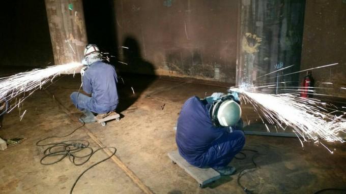 茨城県某所 ボンプバレル施工状況 写真